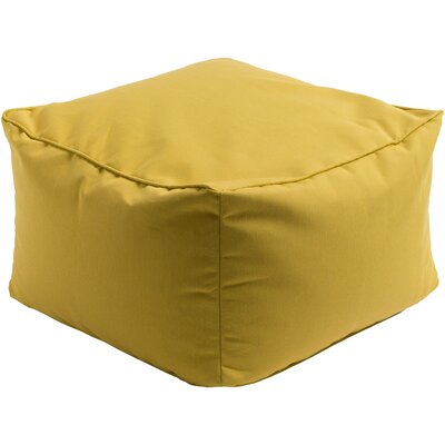Paula Pouf Ottoman Upholstery: Gold