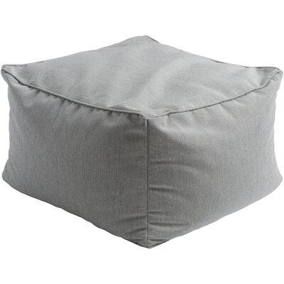 Paula Pouf Ottoman Upholstery: Light Gray