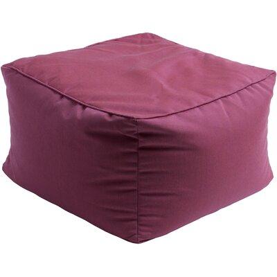 Paula Pouf Ottoman Upholstery: Magenta