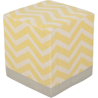 Julianne Pouf Upholstery: Gold