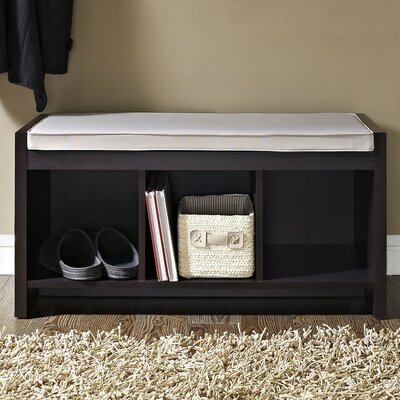 Claudia Storage Bench with Cushion by Zipcode™ Design