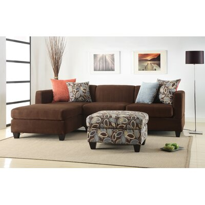 Ashtyn Modular Sectional Upholstery: Chocolate