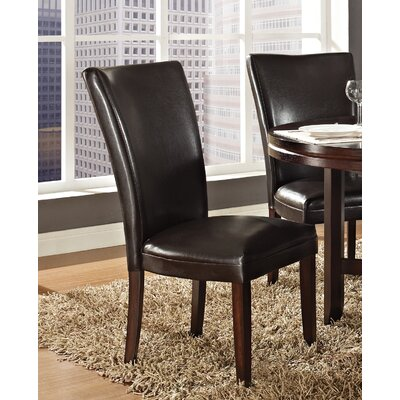 Fenley Parsons Chair (Set of 2) Chair Upholstery: Brown