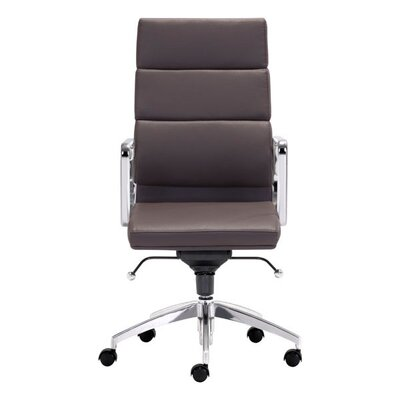 High Back Office Chair Color: Espresso Product Photo 101