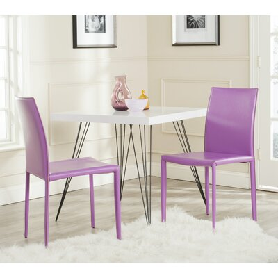 Lacey Side Chair Finish: Purple