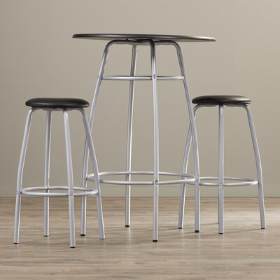 Olga 3 Piece 42 Pub Table & Stool Set