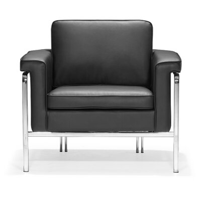 Nadine Armchair Upholstery: Black