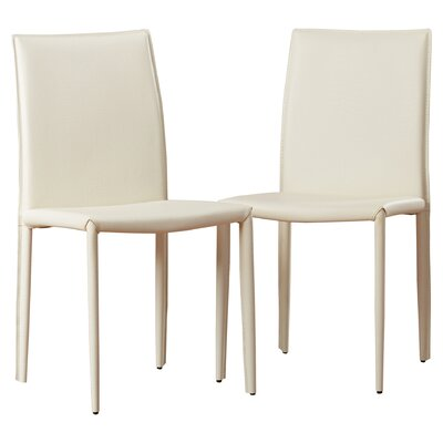 Lacey Side Chair Finish: Light Gray