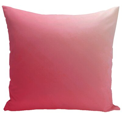 Bonnie Down Blend Throw Pillow Size: 16 H x 16 W, Color: Red