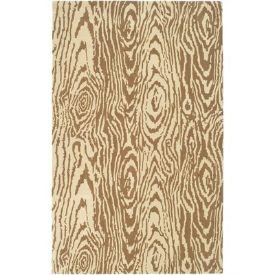 Coffee/Sand Area Rug Rug Size: Rectangle 8 x 112