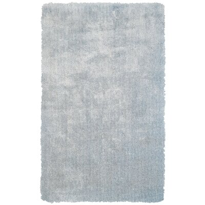 Carter Sky Blue Area Rug Rug Size: Rectangle 8 x 11