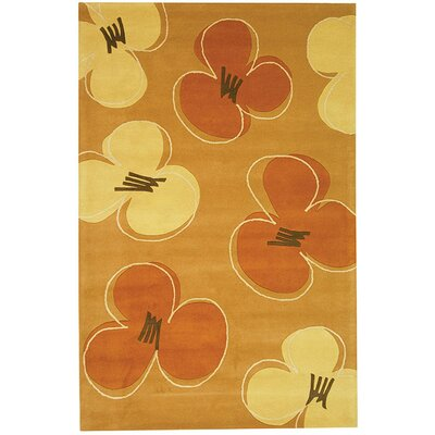 Chidi Hand-Tufted Gold / Assorted Area Rug Rug Size: Rectangle 2 x 3
