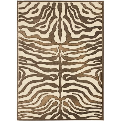 Duran Creme Area Rug Rug Size: Rectangle 53 x 76