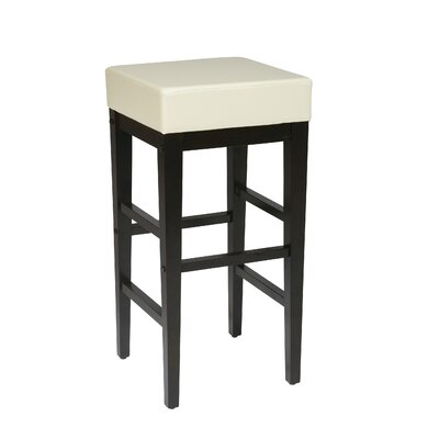 Kathryn 30 Bar Stool Upholstery: Cream