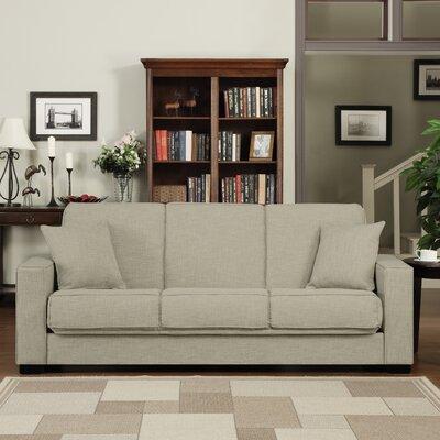 Kaylee Convertible Sofa Upholstery: Barley Tan