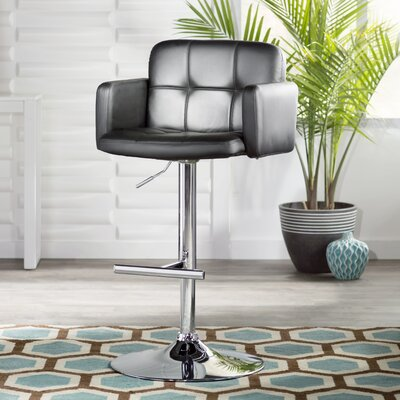 Bethany Adjustable Height Swivel Bar Stool