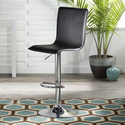 Aero Adjustable Height Swivel Bar Stool