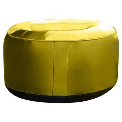 Rosalinda Ottoman Upholstery: Yellow