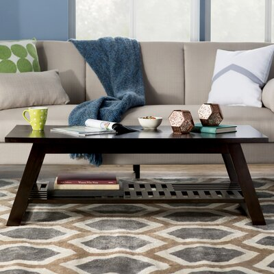 Tabitha Coffee Table Color: Espresso