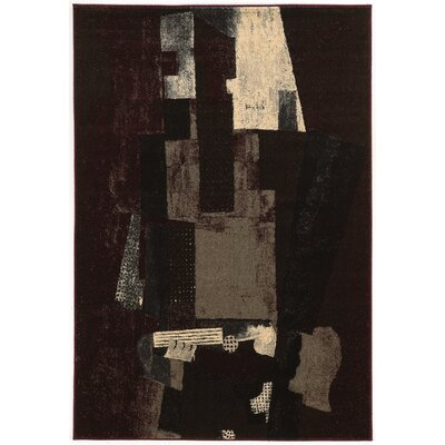Natalee Black/Beige/Gray Area Rug Rug Size: 8 x 103