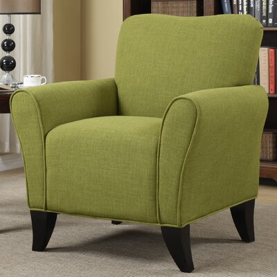 Milo Arm Chair Upholstery: Green