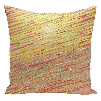 Carovilli Throw Pillow Size: 16 H x 16 W, Color: Warm