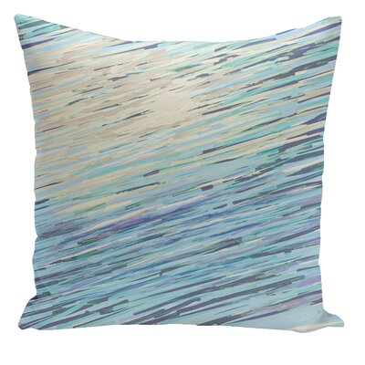 Harris Coastal Polyester Throw Pillow Size: 16 H x 16 W, Color: Neutral