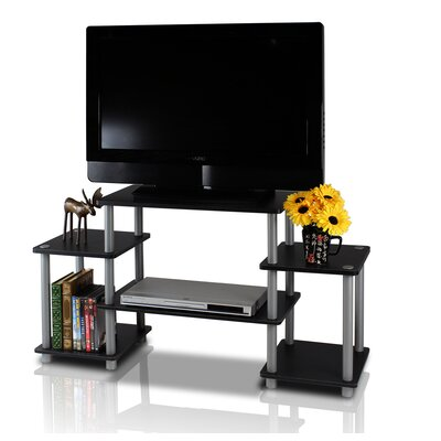 Thelma TV Stand Color: Black / Grey