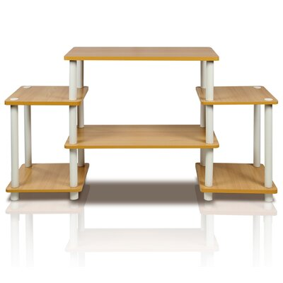Thelma TV Stand Color: Beech / White