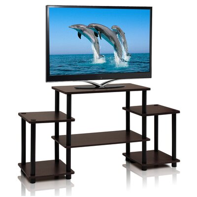 Thelma TV Stand Color: Dark Brown / Black