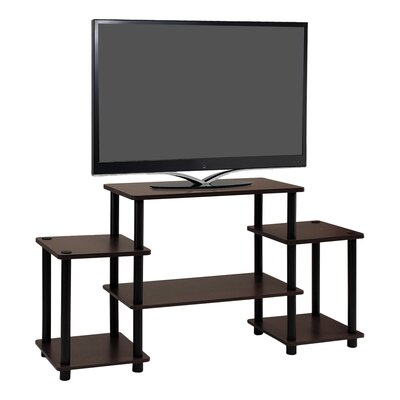 Thelma 42 TV Stand Color: Dark Brown / Black