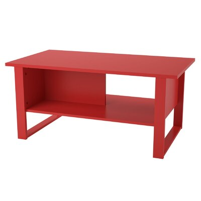 Hollie Coffee Table Finish: Ruby Red