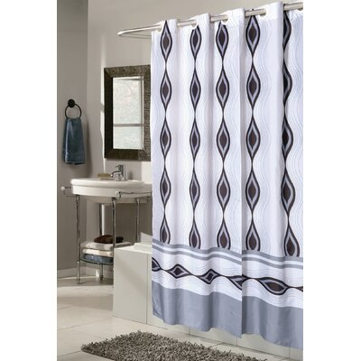 Gianna Harlequin Shower Curtain Size: 72 H x 108 W