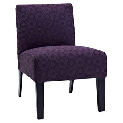 Aaliyah Slipper Chair Upholstery: Fusia
