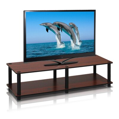 Lilith Just Series TV Stand Finish: Dark Cherry / Black