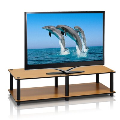 Lilith Just Series TV Stand Finish: Light Cherry / Black