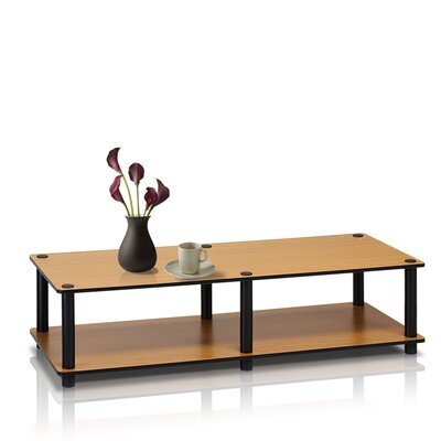 Lilith Just Series 41.3 TV Stand Color: Light Cherry / Black