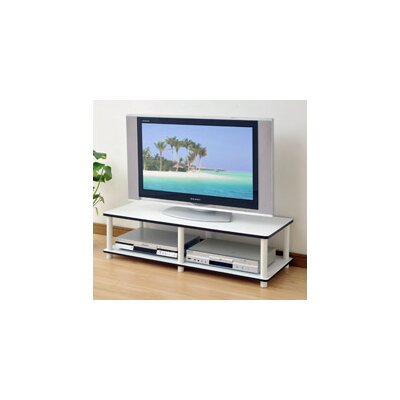 "Lilith Just Series 41.3"" TV Stand Color: White ZIPC8603 37932323"