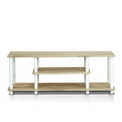 Colleen 43.8 TV Stand Finish: Oak/White