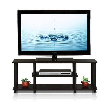Colleen 43.8 TV Stand Finish: Walnut/Black