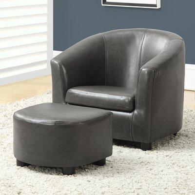 Pamela Kids Barrel Chair & Ottoman