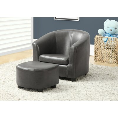 Ben Barrel Juvenile Chair & Ottoman
