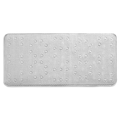 Dalia Waffle Weave Shower Mat Color: White
