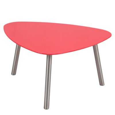 Karina End Table Color: Red