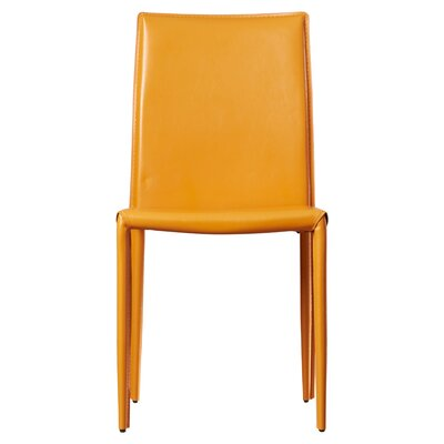 Lacey Side Chair Finish: Orange
