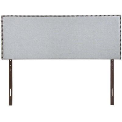 Ragnar Upholstered Foam Panel Headboard Size: Full, Upholstery: Gray