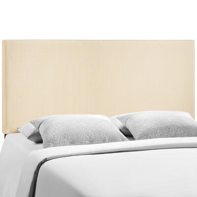 Ragnar Upholstered Panel Headboard Size: Queen, Upholstery: Ivory