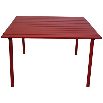 Bonnie Picnic Table Finish: Red