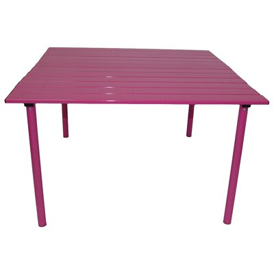 Bonnie Picnic Table Finish: Fuchsia