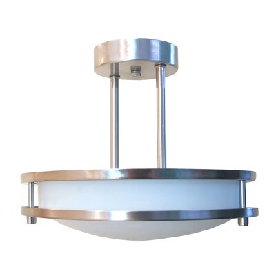Candice 2-Light Semi Flush Mount